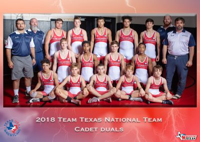 2018 Cadet Duals National Team
