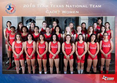 2018 Cadet National Team