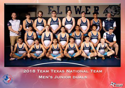 2018 Junior Duals National Team